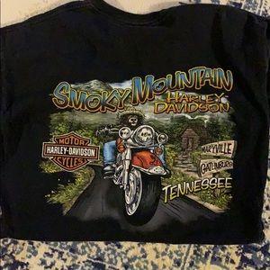 Vintage Harley Davidson Smokey Mountain T-shirt